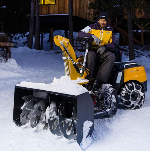 Снегоуборочные райдеры