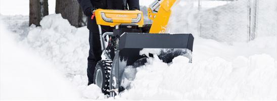 Снегооуборщик Stiga ST 4262 P: разумный выбор качественной и бюджетной снегоуборочной машины
