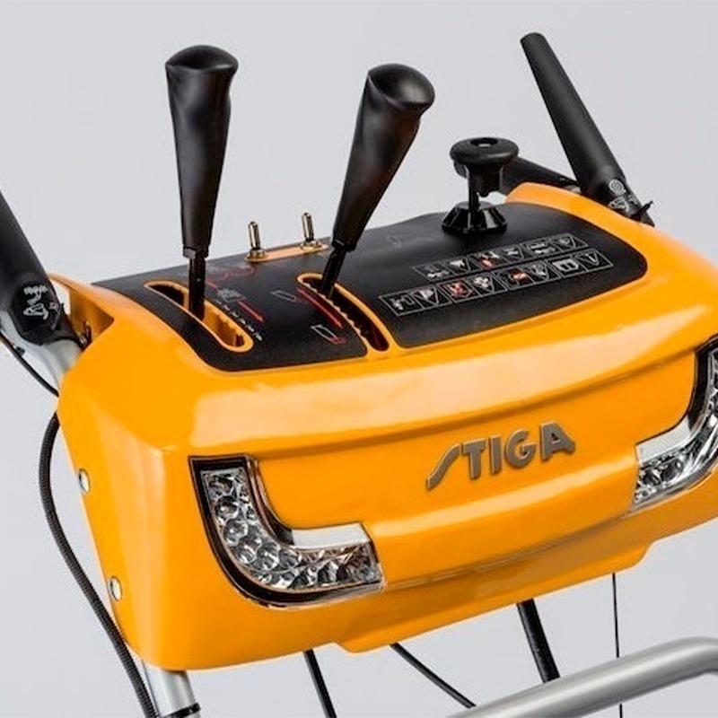 Снегооуборщик Stiga ST 4262 P - панель управления